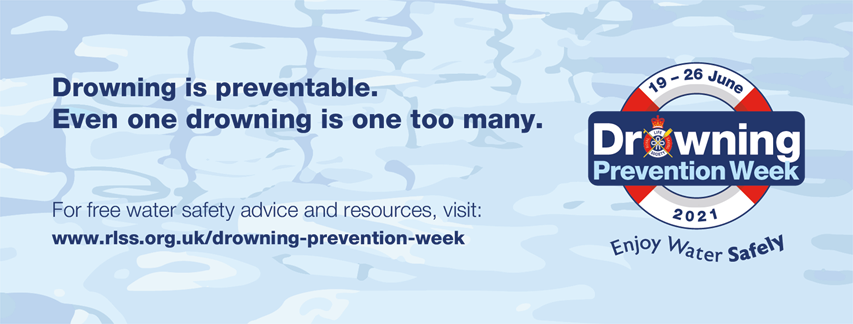 SWIMMING NATURE SUPPORTS DROWNING PREVENTION WEEK